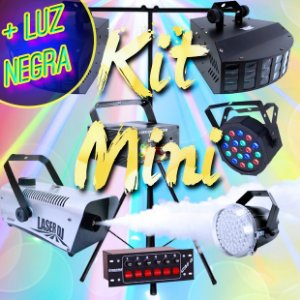 (PROMOÇÃO) Kit Mini + Luz Negra (Grátis) [Aluguel 24h]