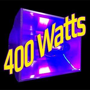 Luz Negra 400 Watts (Aluguel 24h)