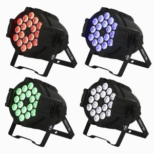 Kit 4 x Optipar LED [Modelo 18-Leds de 12W] (Aluguel 24h)