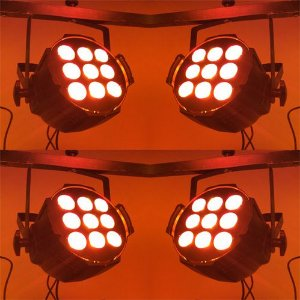Kit 4 x Optipar LED [Modelo 9-Leds de 18W] (Aluguel 24h)