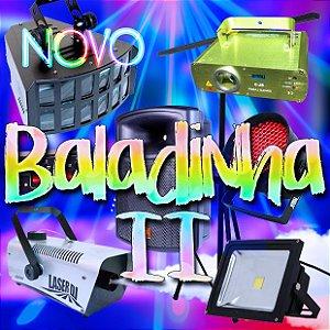 COMBO BALADINHA II - Kit Standard + Caixa de Som JBL (Aluguel 24h)