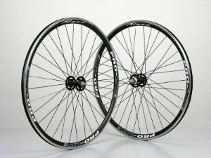 Pro-Lite Rosa Tubular Wheelset Pista - Aro 700