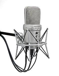 Samson G Track - Microfone Condensador USB - ShockMount GRÁTIS