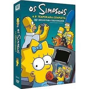 Box DVD Os Simpsons - 8ª Temporada Completa - 4 DVDs - Lacrado (Original)