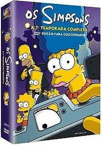 Box DVD Os Simpsons - 7ª Temporada Completa - 4 DVDs - Lacrado (Original)