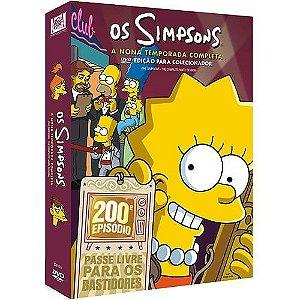 Box DVD Os Simpsons - 9ª Temporada Completa - 4 DVDs - Lacrado (Original)