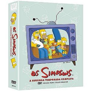 Box DVD Os Simpsons - 2ª Temporada Completa - 4 DVDs - (Original)