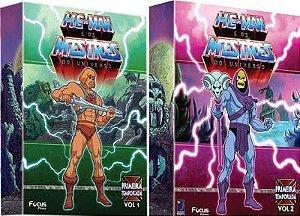 DVD Box - He-Man e os Mestres do Universo (1° e 2° Temporadas)