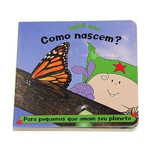 """Livro Infantil Ecológico Educativo """"Como nascem?"""" Bebê Eco"""