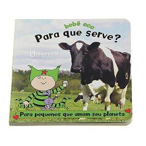 """Livro Infantil Ecológico Educativo """"Para que serve?"""" Bebê Eco"""