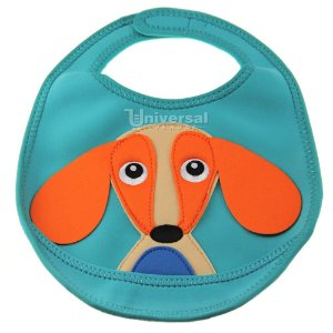 Babador Impermeável 100% Neoprene Cachorro Happy Stephen Joseph Original
