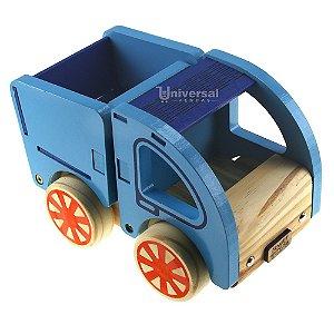 Carrinho Madeira Brinquedo Infantil Caminhão Com Caçamba