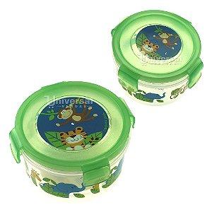 Kit C/ 2 Potinhos Infantil Porta Snacks Stephen Joseph