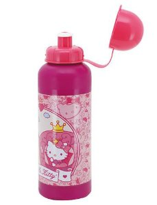 Cantil Squeeze Hello Kitty Garrafinha 500ml Infantil Original