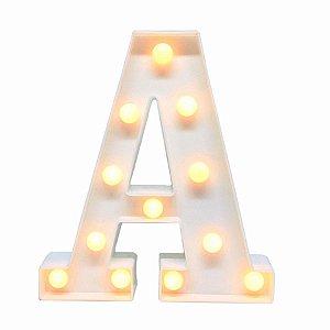 Luminária Letra 3d Led Luminoso Decoração Festa Decorativa