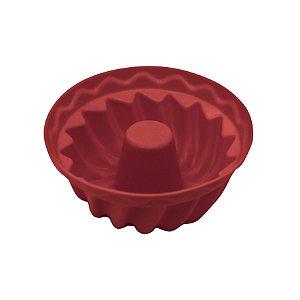 Kit Com 6 Formas De Silicone Furo No Meio Para Cupcake