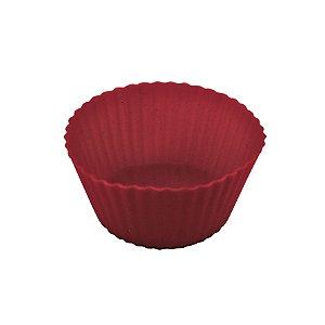 Kit Com 6 Formas De Silicone Redondas Para Cupcake