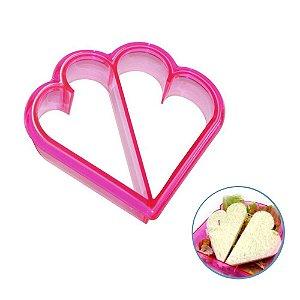 Forma para cortar pão em formato de Coração