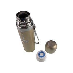 Garrafa Térmica Inox 350ml Quente E Frio Lanche Escola Água Chá Etc
