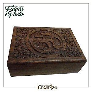 Caixa Média de madeira indiana