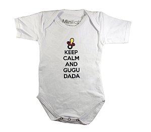 Body Infantil Keep Calm