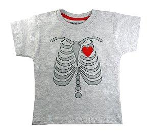 Camiseta Infantil Esqueleto