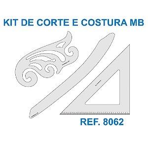 Kit de Réguas para Corte e Costura MB