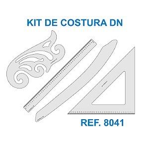 Kit de Réguas para Costura e Modelagem DN