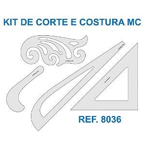 Kit de Réguas para Corte e Costura MC