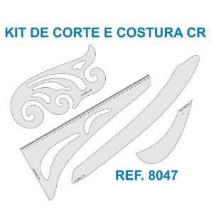 Kit de Réguas para Corte e Costura CR