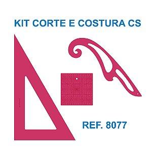 Kit de Réguas para Corte e Costura CS