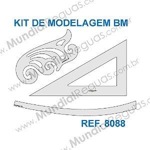 Kit de Réguas para Modelagem BM
