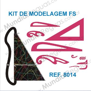 Kit de Réguas para Modelagem FS