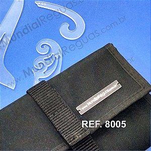Kit de Réguas em Miniatura com Case