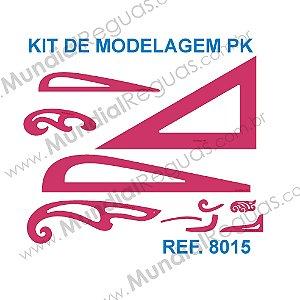 Kit de Réguas para Modelagem PK