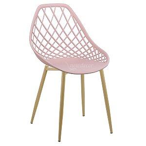 Cadeira Marine Rosa Wood em PP