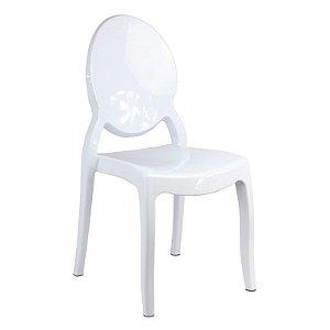 Cadeira New Sophia Branca s/ braço