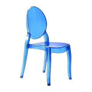 Cadeira New Sophia Azul s/ braço