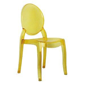 Cadeira New Sophia Amarela s/ braço
