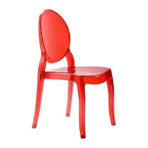 Cadeira New Sophia Vermelha s/ braço