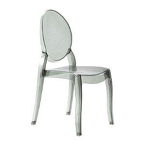 Cadeira New Sophia Fumê s/ braço