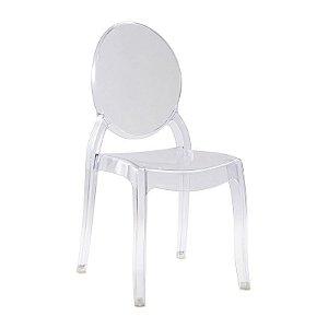 Cadeira New Sophia Incolor s/ braço