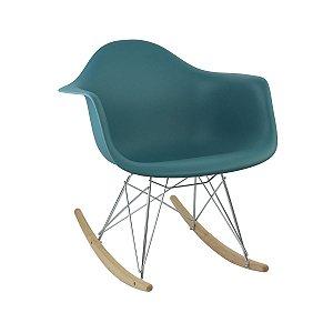 Cadeira Turquesa Charles Eames Balanço DAR em PP