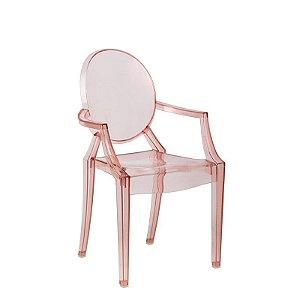 Cadeira Sophia Rosa Infantil