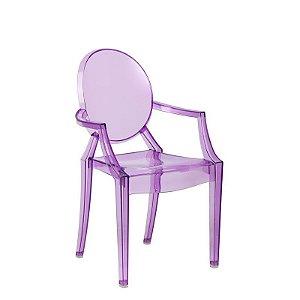 Cadeira Sophia Roxa Infantil