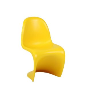 Cadeira Panton Amarela Infantil