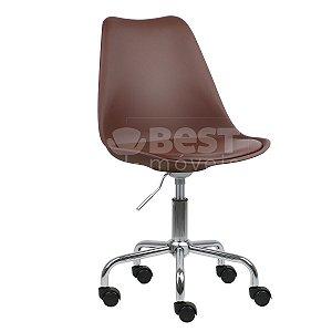 Cadeira Café New Soft Office em PP/PU