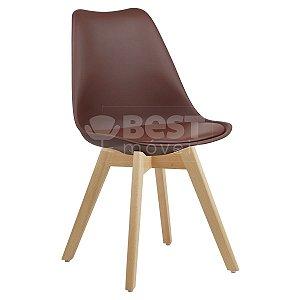Cadeira Café Charles Eames Style Soft em PP/PU