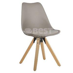 Cadeira Nude Charles Eames Modern Soft em PP/PU