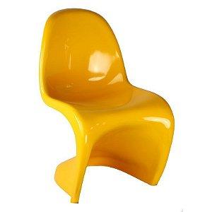 Cadeira Panton Amarela em Abs